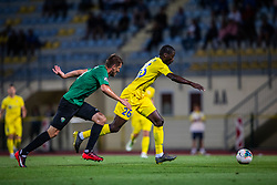 26# Nicholson Shamar from NK Domzale during the match of 1. round of 1. Slovenian National Football League between: NK Domzale and NK Rudar Velenje on July 14, 2019 in Domzale, Slovenia. Photo by Urban Meglic / Sportida