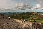 Italy, Marche,  Rocca di San Leo,