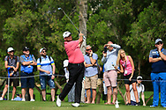 Shane Lowry (IRL) on the 4th tee during Round 2 of the Omega Dubai Desert Classic, Emirates Golf Club, Dubai,  United Arab Emirates. 25/01/2019<br /> Picture: Golffile | Thos Caffrey<br /> <br /> <br /> All photo usage must carry mandatory copyright credit (© Golffile | Thos Caffrey)