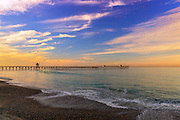 Summer Sunset in San Clemente California