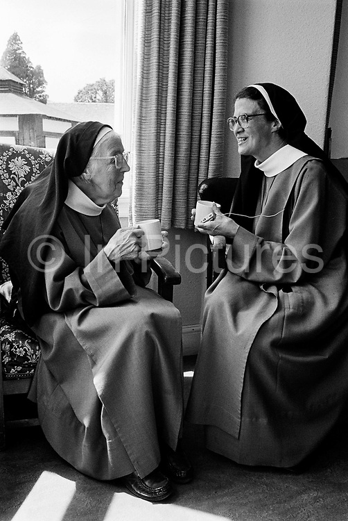 Nuns at the Anglican Convent of the Holy Name, Malvern