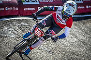 #110 (SMULDERS Laura) NED at Round 4 of the 2018 UCI BMX Superscross World Cup in Papendal, The Netherlands