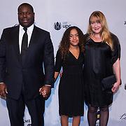 NLD/Amsterdam\/20131028 -Opening Amsterdam Film Week 2013, premiere 12 Years a Slave, Regisseur Steve McQueen, partner en dochter