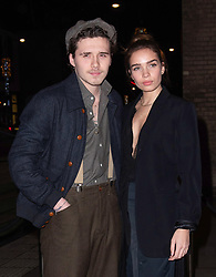 February 19, 2019 - London, New York, United Kingdom of Great Britain and Northern Ireland - Brooklyn Beckham and Hana Cross arriving at the Fabulous Fund Fair at The Roundhouse on February 18 2019 in London, England  (Credit Image: © Famous/Ace Pictures via ZUMA Press)