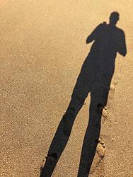 David's Shadow, Polihua Beach