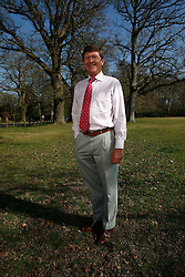 UK ENGLAND BERKSHIRE CHAPEL ROW 23MAR11 - Local councillor Graham Pask poses for a portrait in Bucklebury, Berkshire, England...jre/Photo by Jiri Rezac..© Jiri Rezac 2011