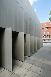 View of The National Museum in Szczecin - The Dialogue Centre Upheavals which displays controversial subjects related to recent history of Szczecin, Poland