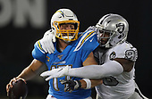 NFL-Los Angeles Chargers at Oakland Raiders-Nov 7, 2019