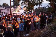 Judy Salamon Candlelight Vigil