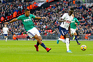 West Bromwich Albion forward Jose Salomon Rondon (9) scores a goal (score 0-1) during the Premier League match between Tottenham Hotspur and West Bromwich Albion at Wembley Stadium, London, England on 25 November 2017. Photo by Andy Walter.