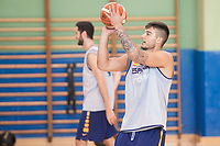 Willy Hernangomez during the Spain training session before EuroBasket 2017 in Madrid. August 02, 2017. (ALTERPHOTOS/Borja B.Hojas)