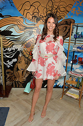 STEPHANIE PEERS at the launch of AYA jewellery by Chelsy Davy held at Baar & Bass, 336 Kings Road, London on 21st June 2016.