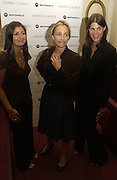 "Vanessa Wingate, Kristin Scott Thomas and Katrina Pavlos, Motorola Grand Classics at the Electric Cinema on Portobello Road,  The French movie Jean Luc goddard's ""Le Mepris"" was screened during the event. The party was hosted by Kristin Scott Thomas. London. 26 September 2005. ONE TIME USE ONLY - DO NOT ARCHIVE © Copyright Photograph by Dafydd Jones 66 Stockwell Park Rd. London SW9 0DA Tel 020 7733 0108 www.dafjones.com"