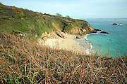 Belvoir bay and beach, Island of Herm, Channel Islands, Great Britain