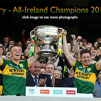 Kerry V Donegal All-Ireland Football Final 2014