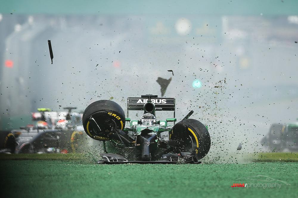 The 2014 Rolex Australian Grand Prix, Albert Park, Melbourne, Australia.
