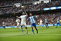 Real Madrid's  Isco Alarcon and Malaga CF's   Chory Castro during La Liga match. November 25,2017. (ALTERPHOTOS/Villa)
