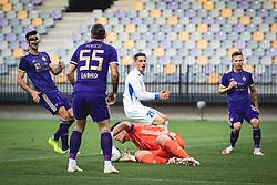 during football match between NK Maribor and NK Celje in 33th Round of Prva liga Telekom Slovenije 2019/20, on July 12, 2020 in Ljudski Vrt, Maribor, Slovenia. Photo by Blaž Weindorfer / Sportida