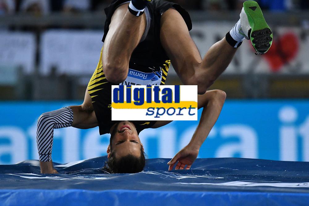 Gianmarco TAMBERI ITA High Jump<br /> Roma 03-06-2016 Stadio Olimpico <br /> IAAF Diamond League Golden Gala <br /> Atletica Leggera<br /> Foto Andrea Staccioli / Insidefoto