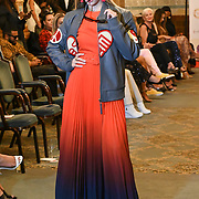 Grafikish showcase her latest collection at London Fashion GALA S/S 22  at The Royal Horseguards Hotel and One Whitehall Place on 2019-09-17, London, UK.