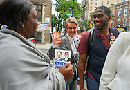 Jumaane Williams, the Democratic candidate for Lieutenant Governor of New York, invites Gubernatorial candidate Cynthia Nixon, to campaign with him in his neighborhood, Flatbush, Brooklyn.