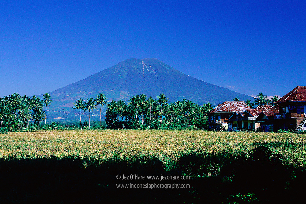 Mount Dempo, South Sumatra, Indonesia.