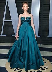 BEVERLY HILLS, LOS ANGELES, CA, USA - MARCH 04: 2018 Vanity Fair Oscar Party held at the Wallis Annenberg Center for the Performing Arts on March 4, 2018 in Beverly Hills, Los Angeles, California, United States. 04 Mar 2018 Pictured: Maya Hawke. Photo credit: IPA/MEGA TheMegaAgency.com +1 888 505 6342