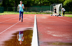 Slovenian athlete Marusa Mismas Zrimsek during practice session after loosening coronavirus COVID-19 restriction, on May 3, 2020 in Stadion Kodeljevo, Ljubljana, Slovenia. Photo by Vid Ponikvar / Sportida