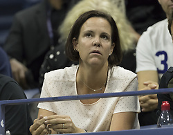 September 6, 2017 - New York, New York, United States - Lindsey Davenport atternds match between Madison Keys of USA & Kaia Kanepi of Estonia at US Open Championships at Billie Jean King National Tennis Center  (Credit Image: © Lev Radin/Pacific Press via ZUMA Wire)