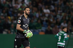 April 18, 2018 - Lisbon, Portugal - Sporting's goalkeeper Rui Patricio from Portugal in action during the Portugal Cup semifinal second leg football match Sporting CP vs FC Porto at the Alvalade stadium in Lisbon on April 18, 2018. (Credit Image: © Pedro Fiuza via ZUMA Wire)