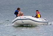 Jezioro Niegocin - sporty wodne, ponton.