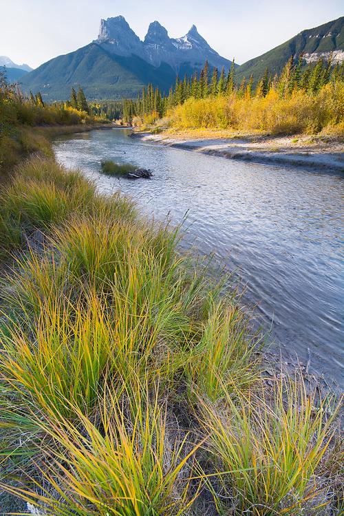 Three Sisters, Spring Creek, Canmore, Alberta