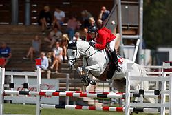 Balsinger Bryan, SUI, Clouzot de Lassus<br /> Young Riders European Championships Jumping <br /> Samorin 2017© Hippo Foto - Dirk Caremans<br /> 13/08/2017,