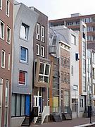 contemporary architecture in Amsterdam Java Island build in 1995