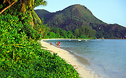 Grand Anse beach, Praslin island, Seychelles