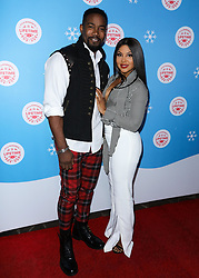 LOS ANGELES, CA, USA - NOVEMBER 14: The Stars Of Lifetime's Christmas Movies Celebrate The Opening Night Of Life-Sized Gingerbread House Experience held at The Grove on November 14, 2018 in Los Angeles, California, United States. 14 Nov 2018 Pictured: Michael Jai White, Toni Braxton. Photo credit: Xavier Collin/Image Press Agency/MEGA TheMegaAgency.com +1 888 505 6342