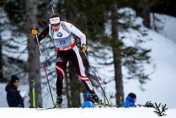 EDER Simon of Austria during Men 10 km Sprint of the e.on IBU Biathlon World Cup on Thursday, March 6, 2014 in Pokljuka, Slovenia. The first e.on IBU World Cup stage is taking place in Rudno polje - Pokljuka, Slovenia until Sunday March 9, 2014. Photo by Matic Klansek Velej / Sportida