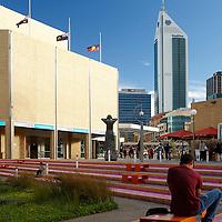 Art Gallery of Western Australia (AGWA)  and the urban wetland in the Perth Cultural Centre Perth Region