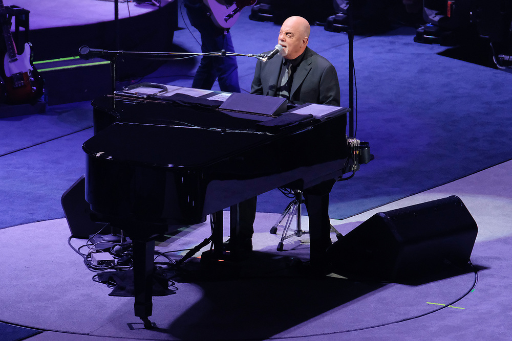 Photos of musician Billy Joel performing live to open the new Nassau Coliseum in Uniondale, NY on April 5, 2017. © Matthew Eisman for Rollingstone.com. All Rights Reserved