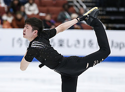 February 7, 2019 - Los Angeles, California, U.S - Boyang Jin of China competes in the Men Short Program during the ISU Four Continents Figure Skating Championship at the Honda Center in Anaheim, California on February 7, 2019. (Credit Image: © Ringo Chiu/ZUMA Wire)