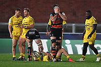 Rugby Union - 2020 / 2021 European Rugby Heineken Champions Cup - Round of 16 - Gloucester vs La Rochelle - Kingsholm<br /> <br /> Gloucester's Matias Alemanno dejected.<br /> <br /> COLORSPORT/ASHLEY WESTERN