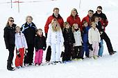 Fotosessie met de koninklijke familie in Lech 2014
