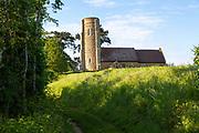 Village parish church of All Saints, Ramsholt, Suffolk, England, UK
