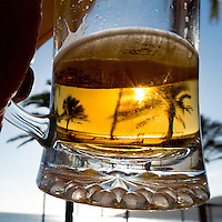 A mug of beer in Sismbra, Portugal
