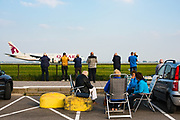 Vliegtuigspotters Polderbaan, Schiphol Airport