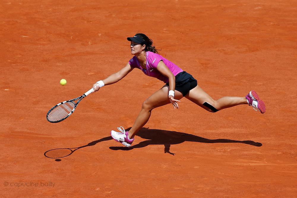 Roland Garros. Paris, France. May 28th 2012.Chinese player Na LI against Sorana CIRSTEA...