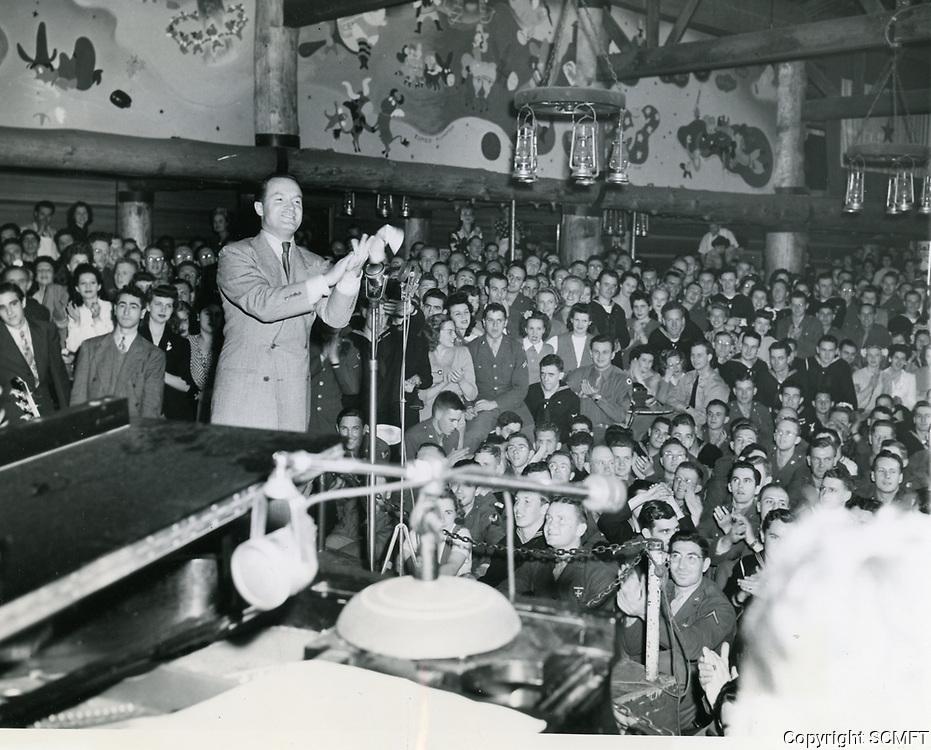 1944 Bob Hope at the Hollywood Canteen