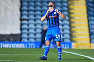Bradden Inman reacts to his shot being saved during the EFL Sky Bet League 1 match between Rochdale and Charlton Athletic at Spotland, Rochdale, England on 27 October 2018.