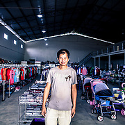 Douglas Chong. He is Surinamense of Chinese origins. He came to Lethem, Guyana to open a new clothes shop after the commerce between Brazil and Guyana increased