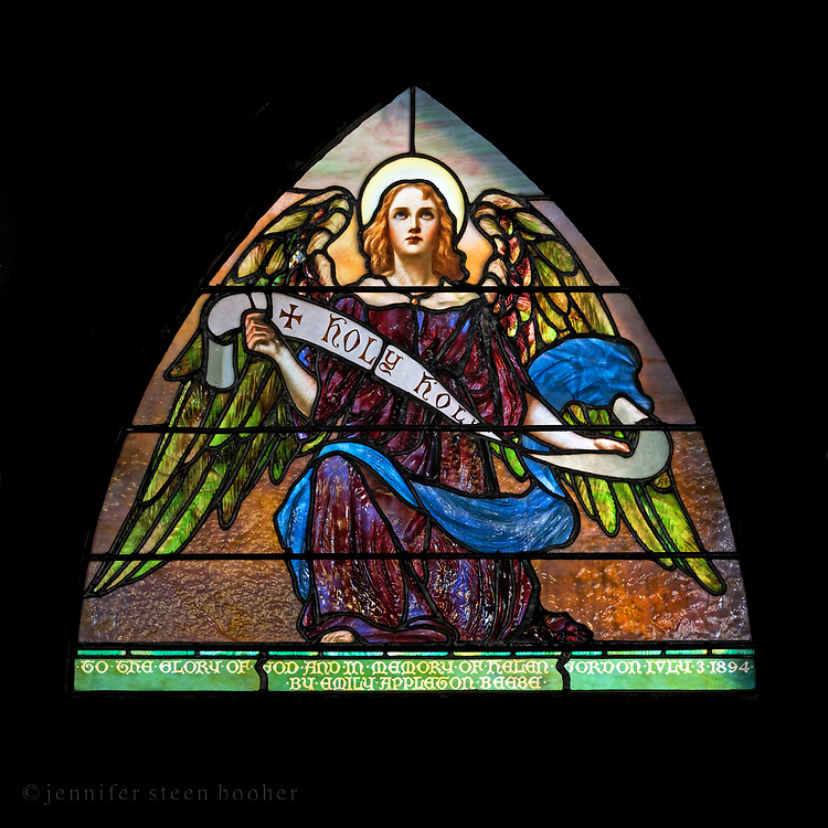 Window 22 on plan.<br /> <br /> St. Saviour's Episcopal Church, Bar Harbor, Maine.